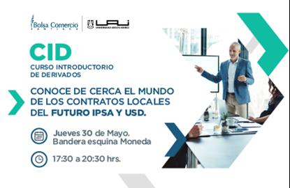 Foto de Curso Introductorio de Derivados (Futuros IPSA y USD) - Mayo 2019